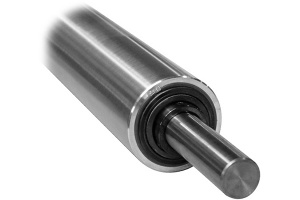 Super finish hard chrome plated cooling roller