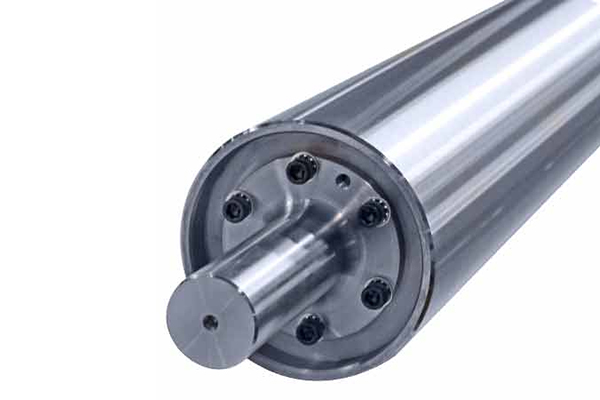 Live Shaft Alluminium Idler Roll supplier