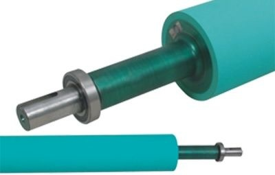 Solventless lamination rubber rollers