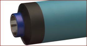 Flexo printing machine rubber rollers