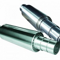 Chrome plating rollers