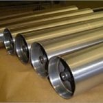 Hard chrome plated rollers