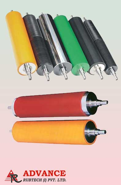 Rubber Coating Roll Manufacturer, Supplier and Exporter in Gujarat, India